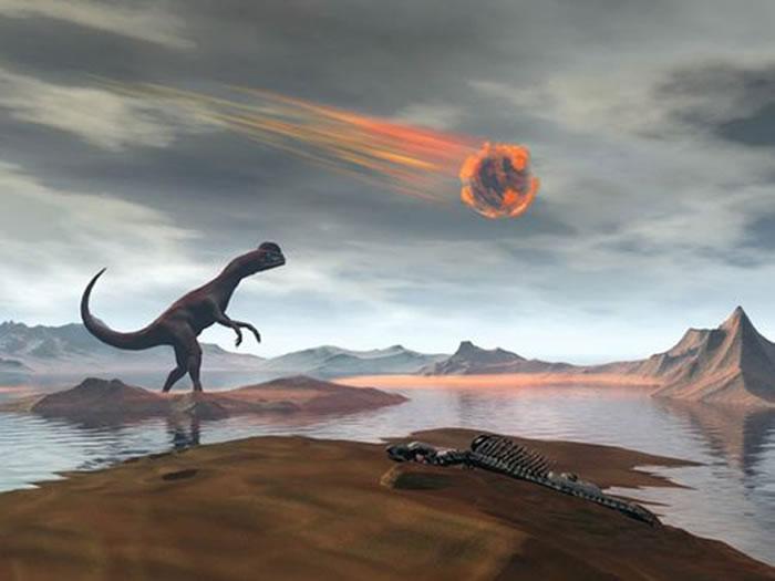 600万年前巨大小行星撞击地球引发剧烈火山爆