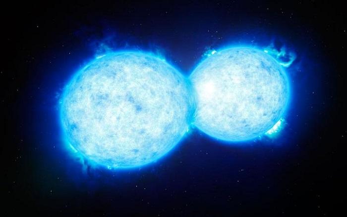欧洲南方天文台发现VFTS 352天体系统发生双星合并事件