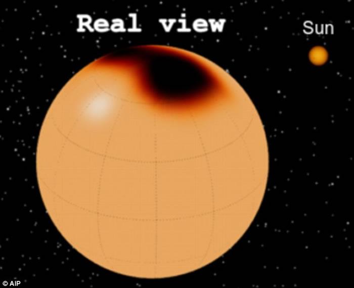 这颗恒星叫做XX Triangulum,距离地球1500光年,其体积是太阳的10倍。