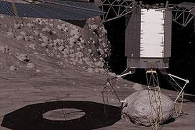 在我们拦截小行星之前,需要对其进行深入了解,捕获一颗小行星成为第一选择