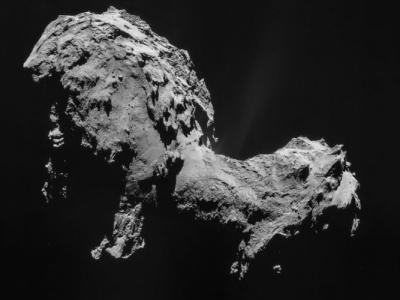 """67P彗星上发现氧分子 """"年龄""""大过太阳系"""