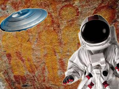 印度史前岩画惊现天外来客 考古学家邀NASA调查