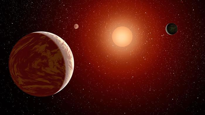 围绕红矮星的行星上也可能出现生命