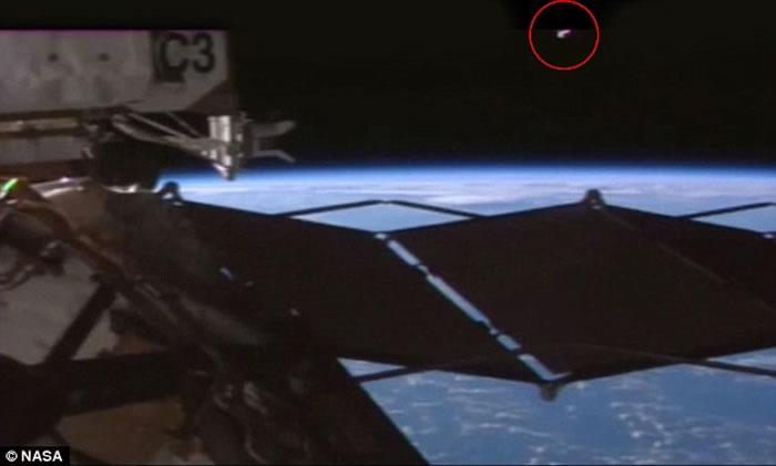 UFO猎人误将国际空间站结构当成外星飞船