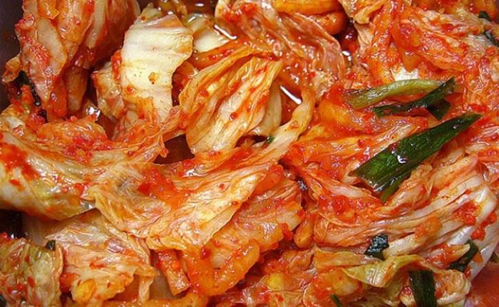 朝鲜泡菜申遗成功的话,将为国争光。