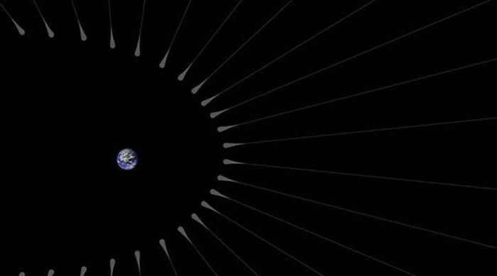 """地球或许拥有一层浓厚而且超长的暗物质""""毛发"""""""