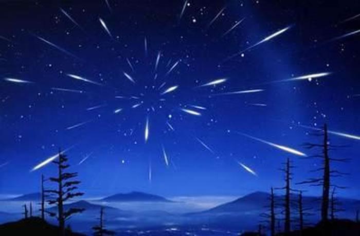 神秘凤凰座流星雨12月7日将迎来极大