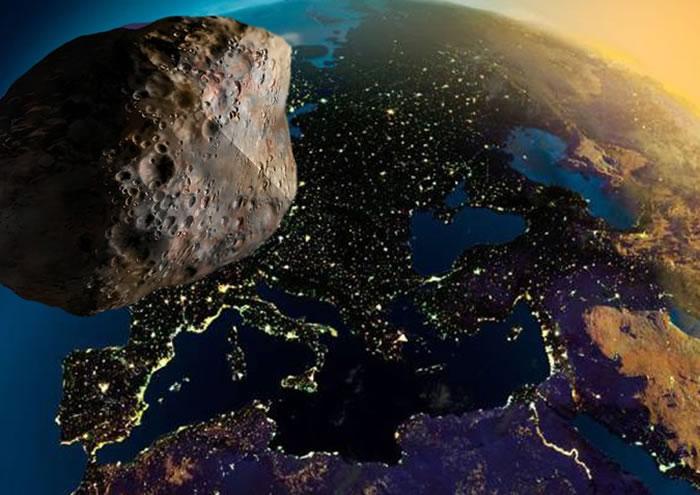 宽度达2.4公里的小行星2003 SD220可能在12月25日圣诞节前夕与地球擦肩而过