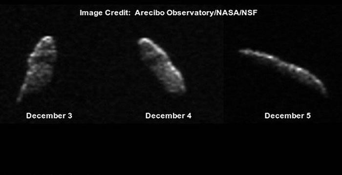 小行星2003 SD220将在圣诞节前夕飞过地球