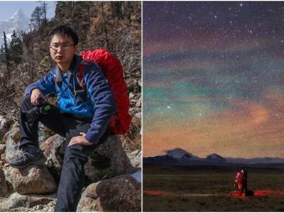 重庆天文爱好者戴建峰拍喜马拉雅山星空作品荣登美国NASA官网