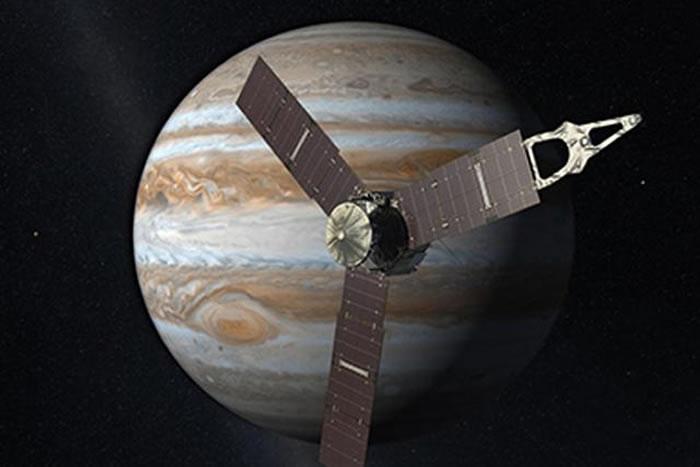 在太空方面,美国宇航局在2016年会有一个重大事件,这就是朱诺号木星探测器进入木星轨道,经过长达五年的深空飞行,朱诺号终于抵达了木星