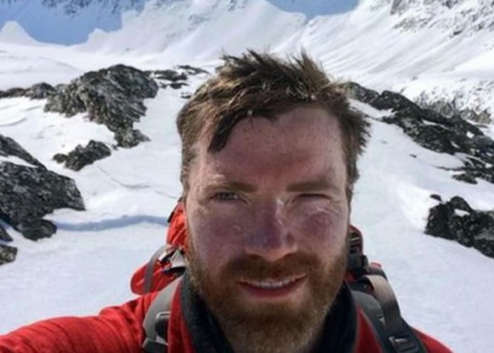 罗拔臣(图)将是首位单独横越南极、而又不靠任何援助的苏格兰人。
