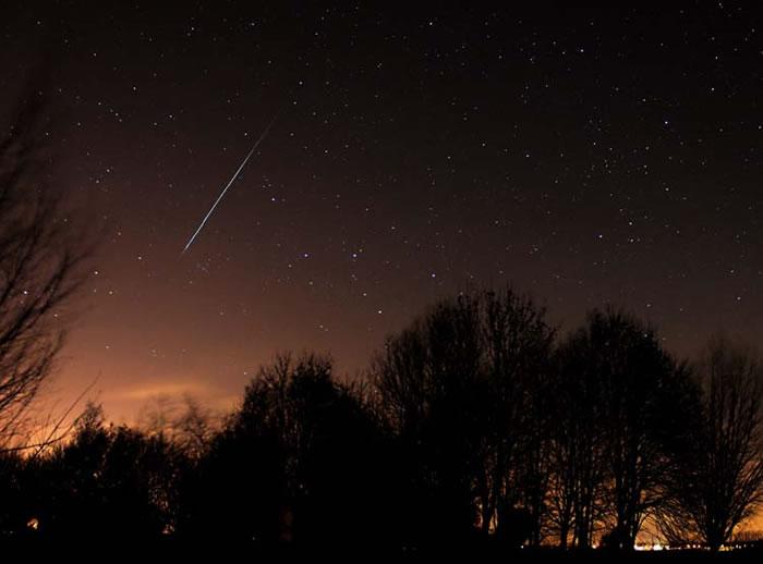 象限仪座流星雨(Quadrantids) 是年度最优秀的流星雨之一