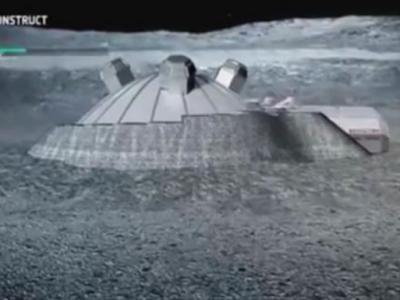 欧洲航天局:2020年起利用3D打印技术在月球开始建造供人类居住的基地