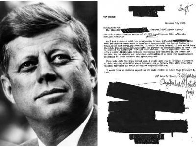 命CIA公开UFO密件是美国前总统肯尼迪遇刺原因?