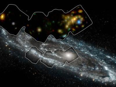 仙女座星系喷射出高能X射线