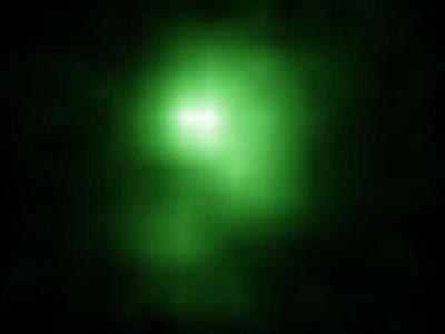 哈勃太空望远镜观测绿色豌豆星系J0925 + 1403