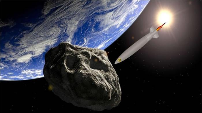 俄罗斯科学家想到发射核弹,将小行星炸离地球。