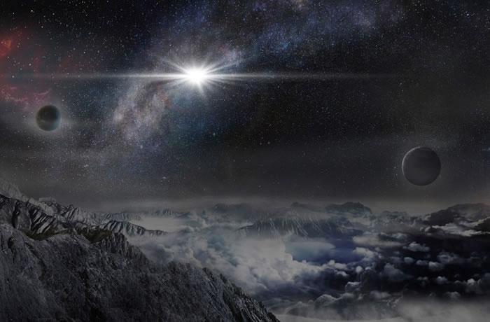 去年6月发现的超新星,高峰时的亮度比太阳强5700亿倍。