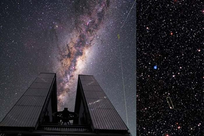 来自巴西圣保罗大学的科学家小组在智利发现了这颗早期恒星,将其命名为2MASS J18082002–5104378
