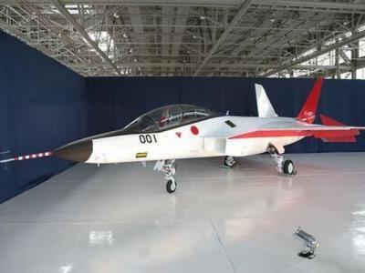 """日本研制新隐形战机""""X2""""图制衡中国军事影响力"""
