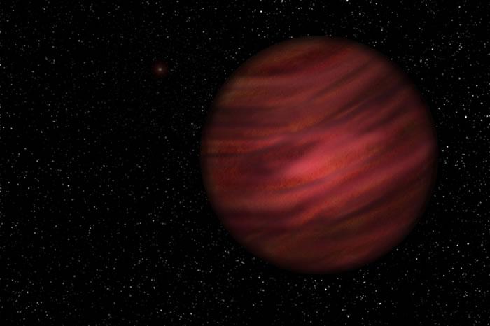 被称为2MASS J2126的巨大行星