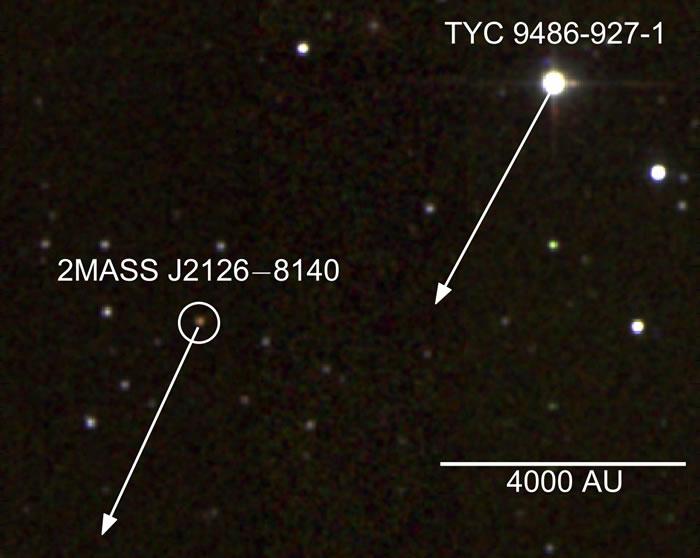 """天文学家发现已知最大""""太阳系"""" 巨大行星围绕恒星运行一周需要近100万年"""
