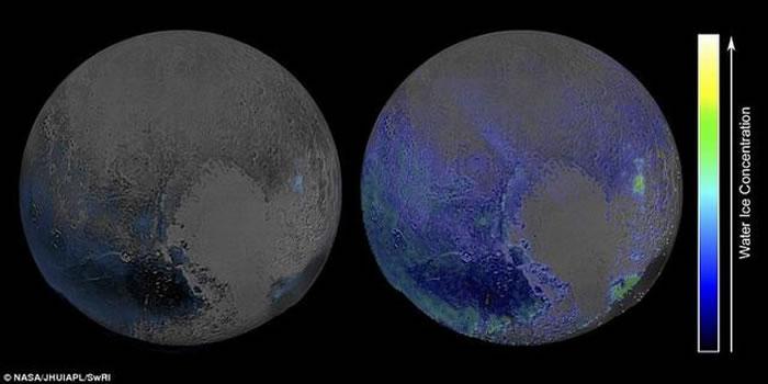 天文学家最新观测发现冥王星表面覆盖大量水冰