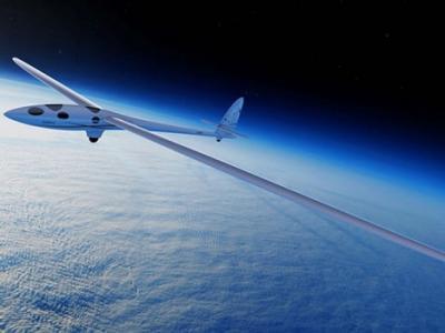 欧洲空中客车研发出号称全球首架能在太空边缘翱翔的滑翔机Airbus Perlan II