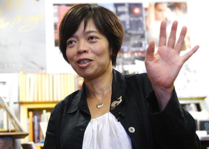 八木景子表示,她拍摄的纪录片官网受到攻击而瘫痪。