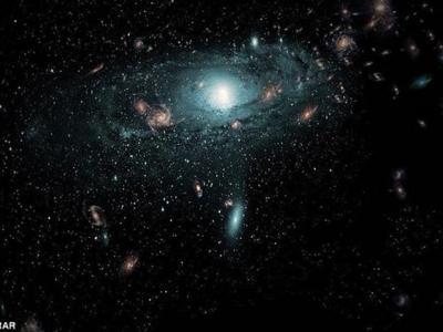天文学家首次发现银河系附近的数百个隐藏星系