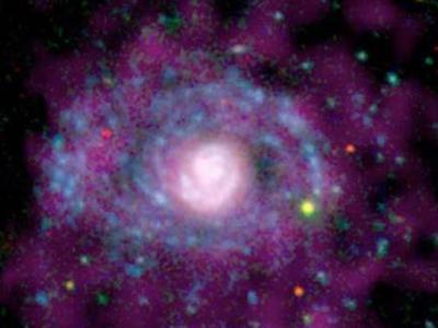 一些星系外围区域恒星形成的比率非常高