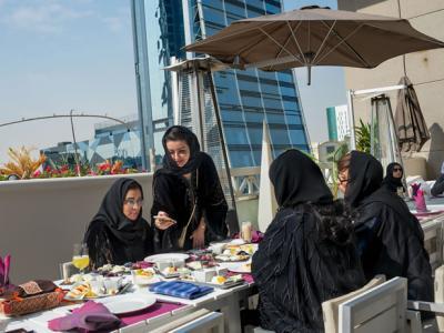 改变中的沙特阿拉伯女性面貌