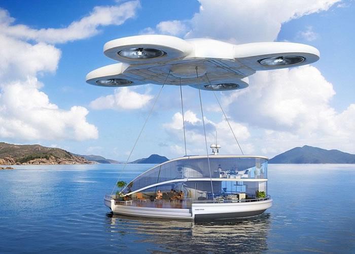 无人驾驶飞机会成为主要的交通工具,甚至能够载着人们举家外游。