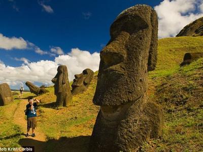 智利复活节岛的古代文明并未毁于战争