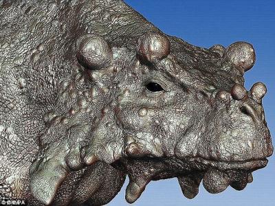 古生物学家称2.6亿年前巨颊龙是史上最丑陋的动物