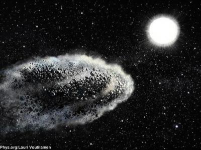 近地小天体并非一头扎进太阳而被摧毁 而是在远未抵达太阳之前便已分崩离析