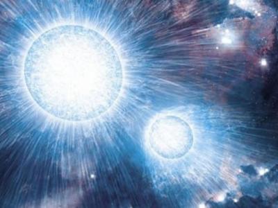 由高亮高温的沃尔夫-拉叶星和大质量OB型星组成的双星系统会产生强烈的星风
