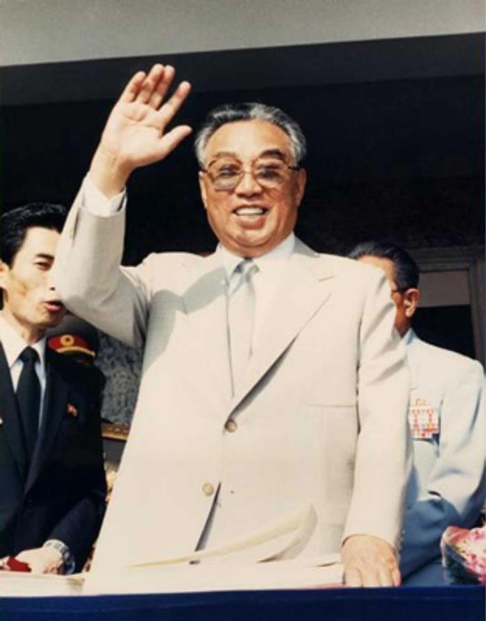 北韩前领袖金日成