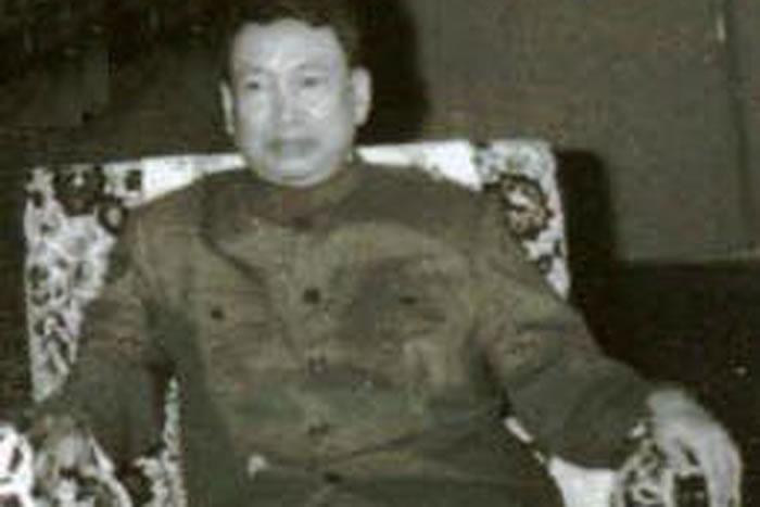 柬埔寨前赤柬领袖波尔布特