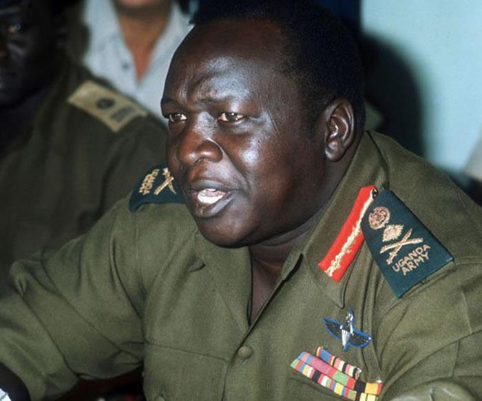 非洲国家乌干达前独裁者阿敏