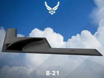 美军下一代隐形战略轰炸机B-21官方设计图首曝光