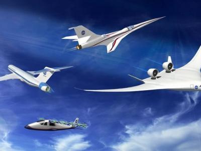 NASA研推静音版超音速客机 可望4年后飞行