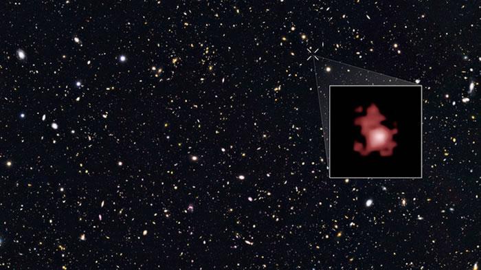 大熊星座内发现宇宙诞生时期形成的星系GN-z11