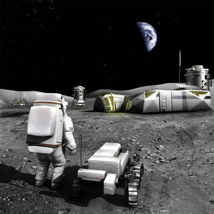 月球活动效果图
