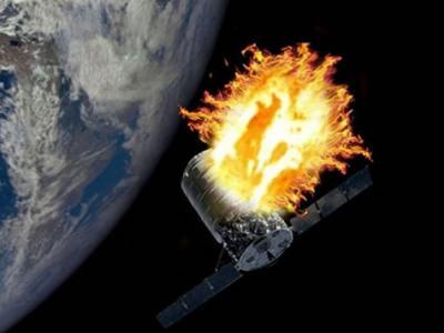 """美国NASA要在太空进行""""太空船火焰实验"""":在""""天鹅座""""进入大气层前遥控放火烧"""