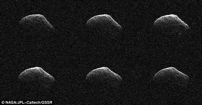 """彗星""""P/2016 BA14""""届时距离地球约350万公里,是史上第二颗距离地球最近的彗星。"""