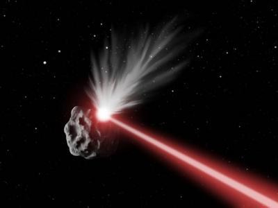 美国大学实验证实激光改变小行星轨道可行