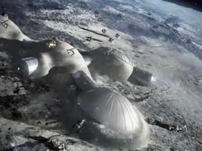"""欧洲太空总署计划2030年前在月球上建设""""月球村"""""""