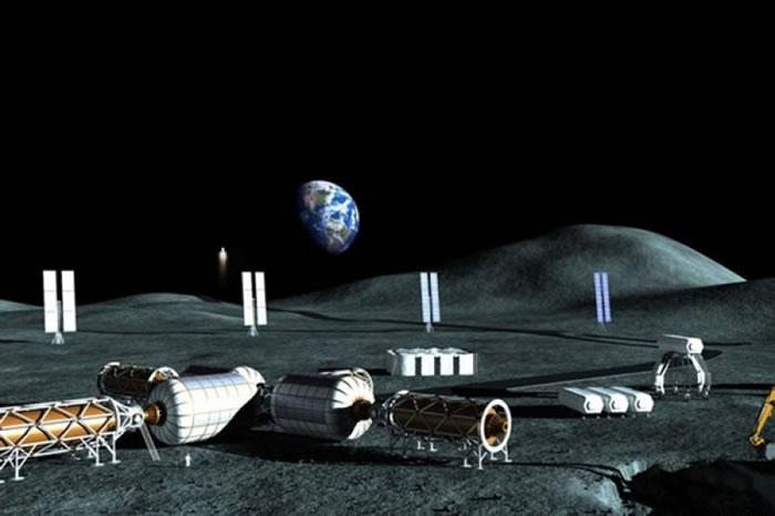 月球基地构思图